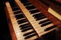 Abstract Organ Keys