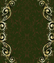 Abstract ornate frame Royalty Free Stock Photo