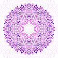 Abstract Ornate Mandala. Decorative frame for design. Royalty Free Stock Photo