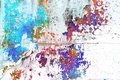 Abstract paint Royalty Free Stock Image