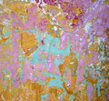 Abstract of painted wall Royalty Free Stock Photo