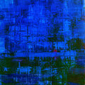 Abstract painting background as dark blue Stock Photo