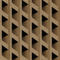 Abstract paneling blocks stacked for seamless background