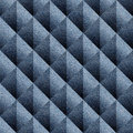 Abstract paneling pattern seamless pattern blue denim jeans background Royalty Free Stock Photos