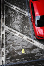 Abstract parking shot Stock Images