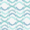 Abstract pastel blue scribble waves pattern