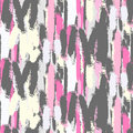 Abstract pastel color brush strokes seamless pattern.