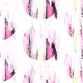 Abstract pastel pink color brush stroke stains seamless pattern.