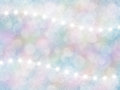 Abstract pastel rainbow background with boke and stars effect place for text Royalty Free Stock Photography