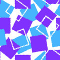Abstract pattern of blue and lilac squares
