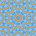 Abstract pattern of blue sea, sky and sand