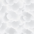 Abstract pattern with clouds. Cloudy sky seamless background Royalty Free Stock Photo