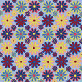 Abstract Pattern Flower Seamle...