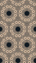 Abstract pattern with geometric ornament.