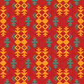 Abstract pattern in indian american style geometric Stock Photos