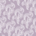 Abstract pattern with lace stylized objects