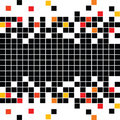Abstract pattern with mosaic Royalty Free Stock Photos