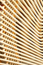 Abstract pattern on a pile of iron chairs Stock Photo