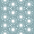 Abstract pattern white snowflakes seamless vector pattern the texture may be used for printing on fabric or paper and in web Stock Photography