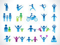 Abstract people icon Royalty Free Stock Image
