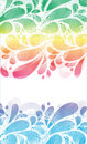 Abstract petal background. Royalty Free Stock Images