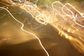 Abstract photo of light trails Stock Photography