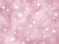 Abstract pink boke background with stars