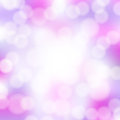 Abstract pink bokeh background with circles Royalty Free Stock Images