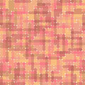 Abstract pink brown seamless pattern pattern can be used as wallpaper web page background textile design etc Stock Photos