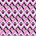 Abstract pink diamond pattern