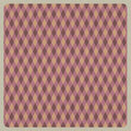 Abstract pink retro pattern background, recycled paper craft