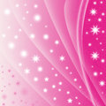 Abstract Pink Star Background