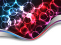 Abstract plasma background design Royalty Free Stock Photo