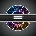 Abstract plasma login screen Royalty Free Stock Images