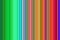 Abstract playful vertical lines, hypnotic design Royalty Free Stock Photo