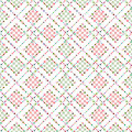 Abstract polka dot retro seamless pattern