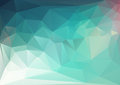 Abstract polygon triangle background Royalty Free Stock Photo