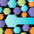 Abstract polygonal background modern presentation Stock Image