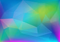 Abstract polygonal colorful light corporate background web blog header Stock Images