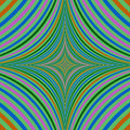 Abstract psychedelic quadratic background design Royalty Free Stock Photo