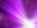Abstract purple background bursts light energy rays Stock Photography
