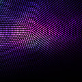 Abstract purple dots and black background Royalty Free Stock Photo
