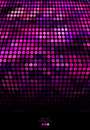 Abstract purple and black mosaic background on Stock Image