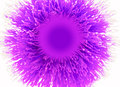 Abstract purple brush Stock Photo