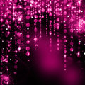 Abstract purple christmas lights Royalty Free Stock Image