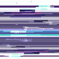 Abstract purple wallpaper in the style of a glitch pixel. Purple geometric pattern noise. Grunge, modern background with Royalty Free Stock Photo