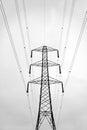 Abstract of pylon Royalty Free Stock Photo