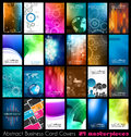 Abstract quality background for business cards or technology covers Royalty Free Stock Photography