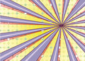 Abstract radial sun burst background retro style colorful light dissipated behind vector illustration eps Royalty Free Stock Photos