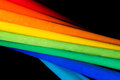 Abstract Rainbow Background Wi...